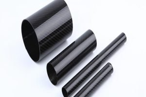 Roll-wrapping carbon Fiber round tube