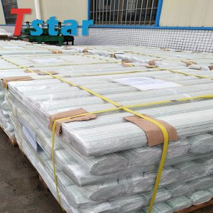Fiberglass stake for plant supporting