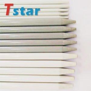 Sharpened fiberglass stake