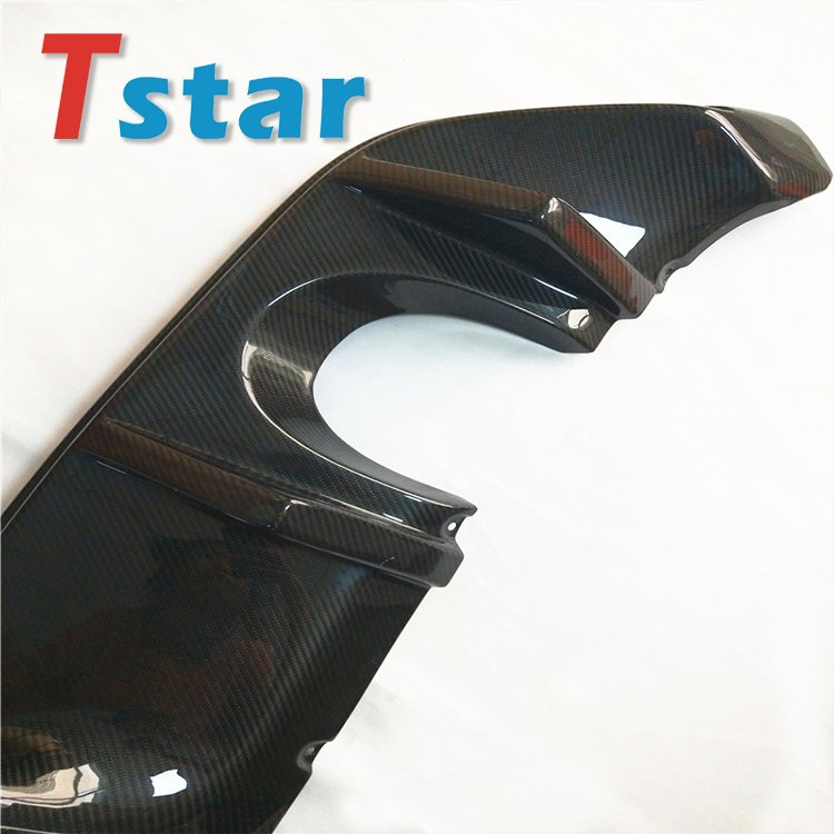 carbon fiber car tail 2