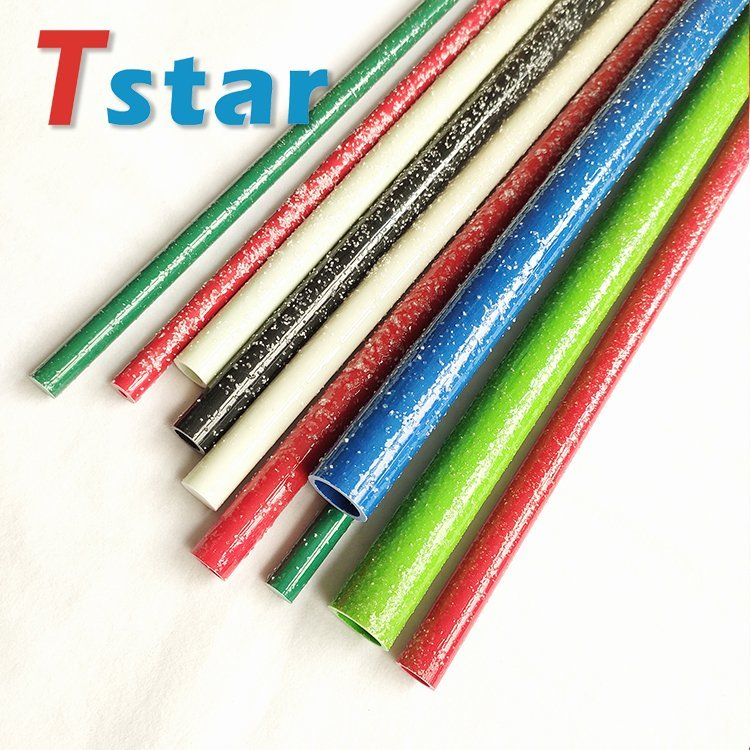 rough surface fiberglass stake