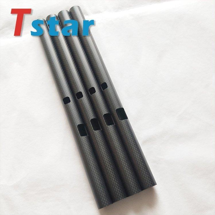 CNC processed Carbon fiber tube 10