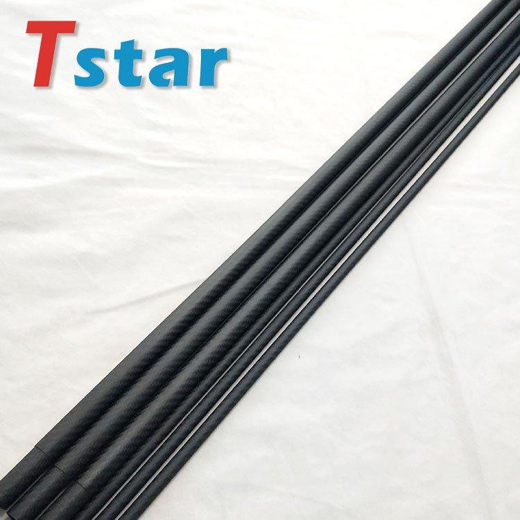 Matte Finish Carbon Fiber Telescopic Round Tube Tubing Pipe Pole 8