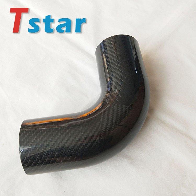 3K carbon fiber bent tube 2