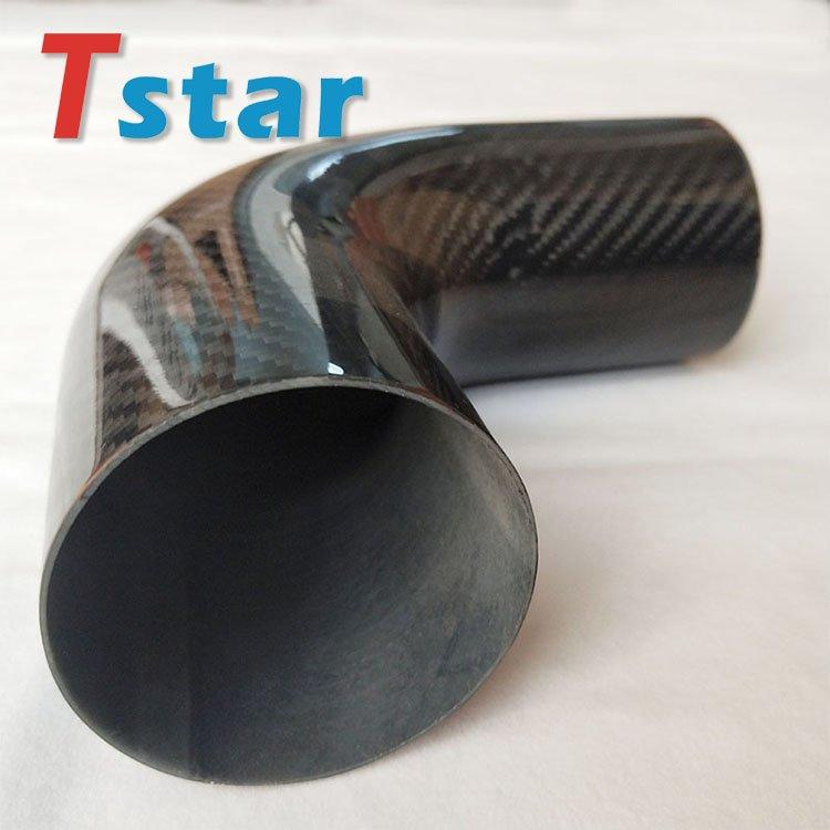 3K carbon fiber bent tube