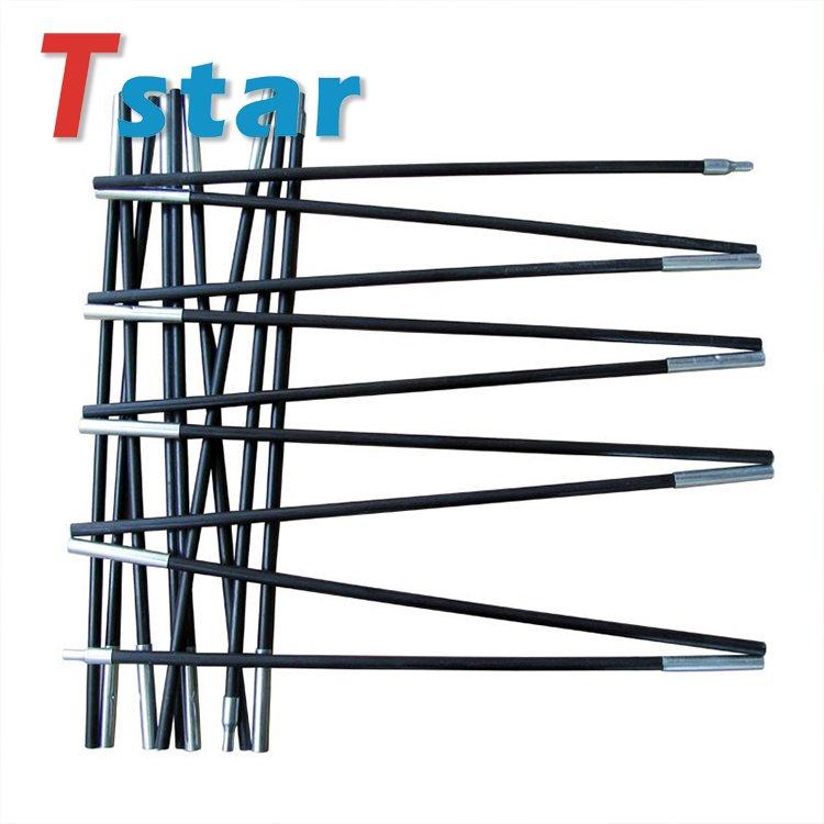 Glass fiber rod for tent pole