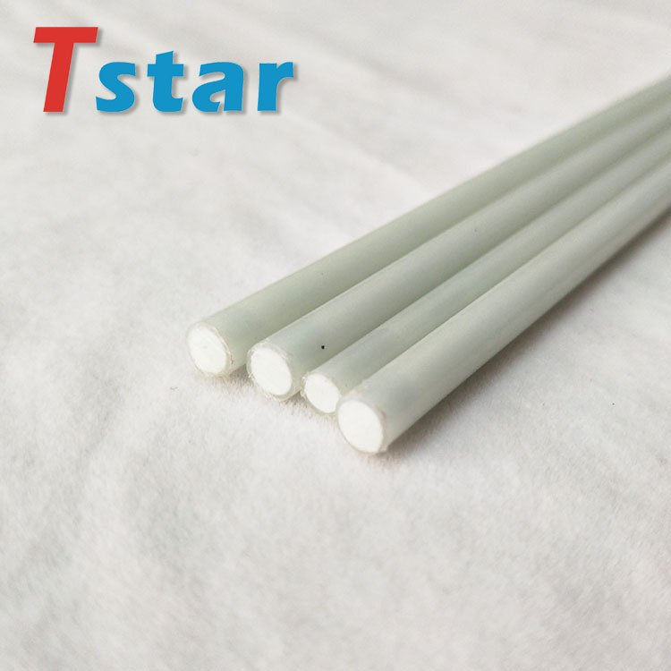 Surface cover with plastic film glass fiber rod for tent pole 2