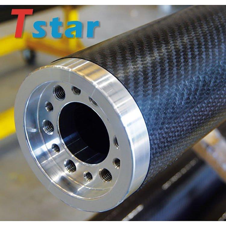 light weight high strength carbon fiber roller tubes 8