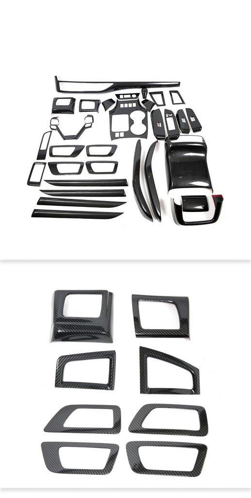 Factory CNC molds carbon fiber customize car accessories custom carbon fiber parts 2