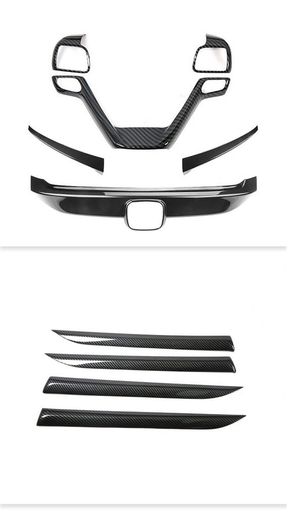 Factory CNC molds carbon fiber customize car accessories custom carbon fiber parts 4