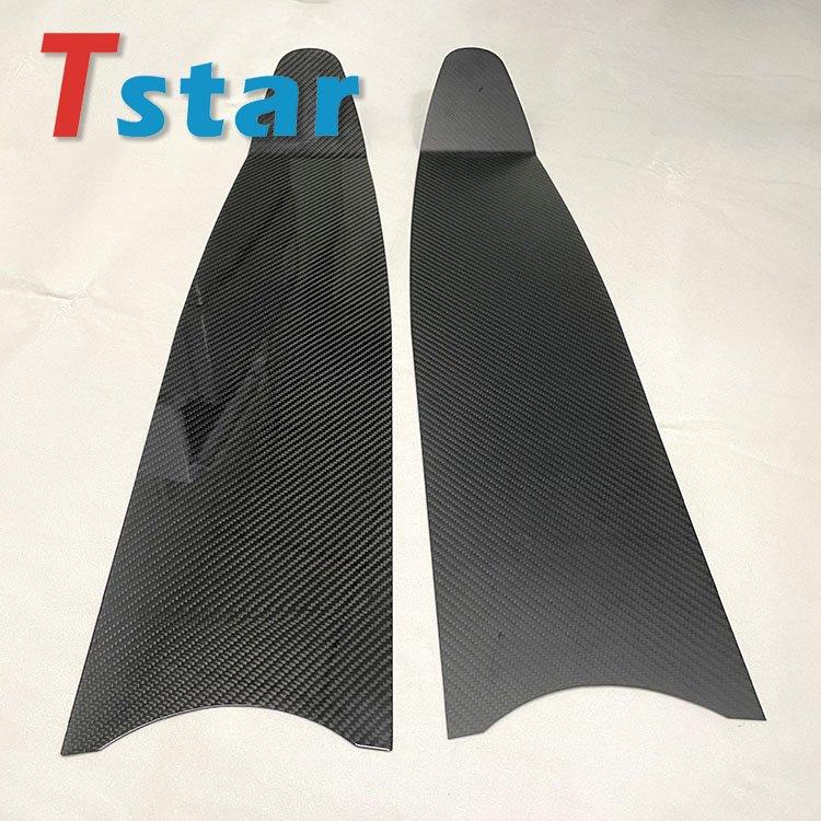 Pure Carbon Fiber Freediving Fins