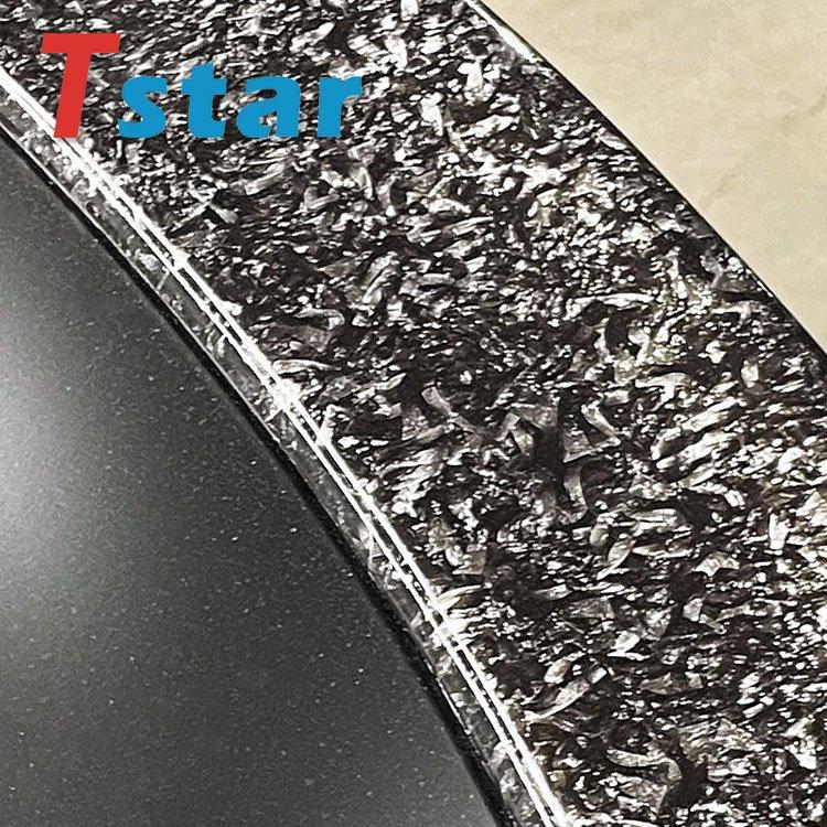 Forged carbon fiber part